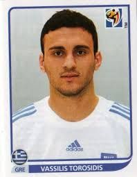 Image result for 2010 panini greece torosidis