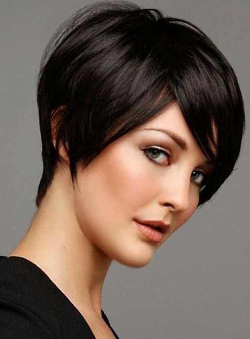 Resultado de imagen para cabello corto negro de dama