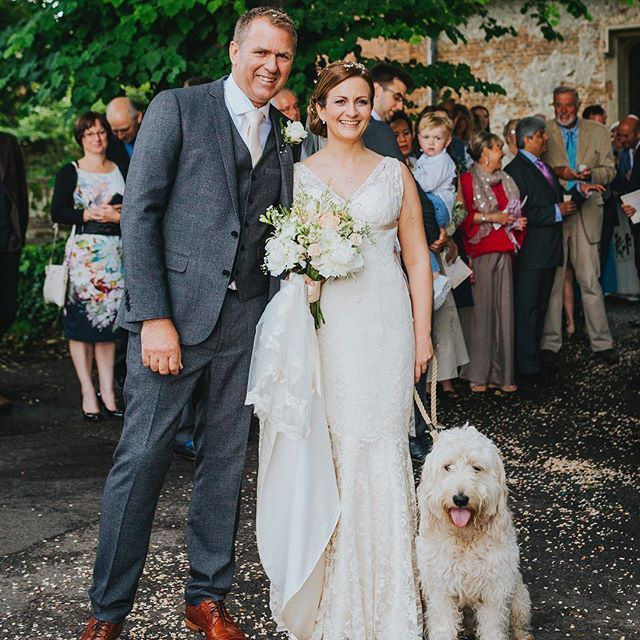 Turn back to when I was best pup at my pawrents wedding this summer #bestdayever #woreabowtietochurch #doodlesofinstagram #ilovemyfamily #goldendoodlesofinstagram #goldendoodle #instadog #doodle #wedding #weddingdog #bestpup