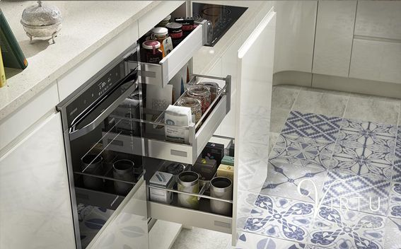 Internal Drawer Box. Perfect for that little bit of extra storage within your kitchen unit - available in 500 & 600mm. #TheArtofLiving