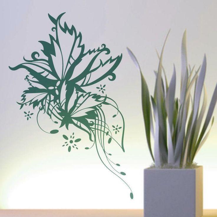 Szablon malarski - Kwiaty | Paint template - Flowers | 24,49 PLN #paint #template #flowers #home_decor #interior_decor #design #wall_decor #szablon #szablon_malarski #kwiaty #kwiatek #dekoracja_ściany #dekoracja_wnętrza