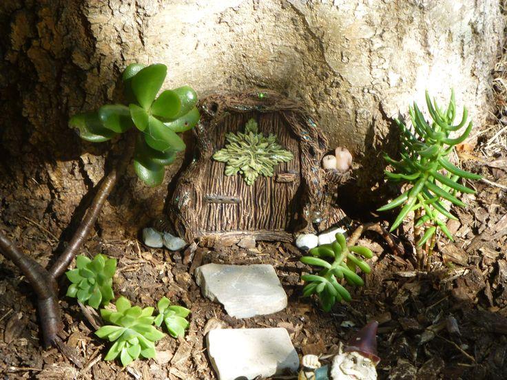 I love this little fae door it has the green man just stunning little miniature fairy door https://www.facebook.com/InspiredByFae?ref=hl By Michelle Fenton