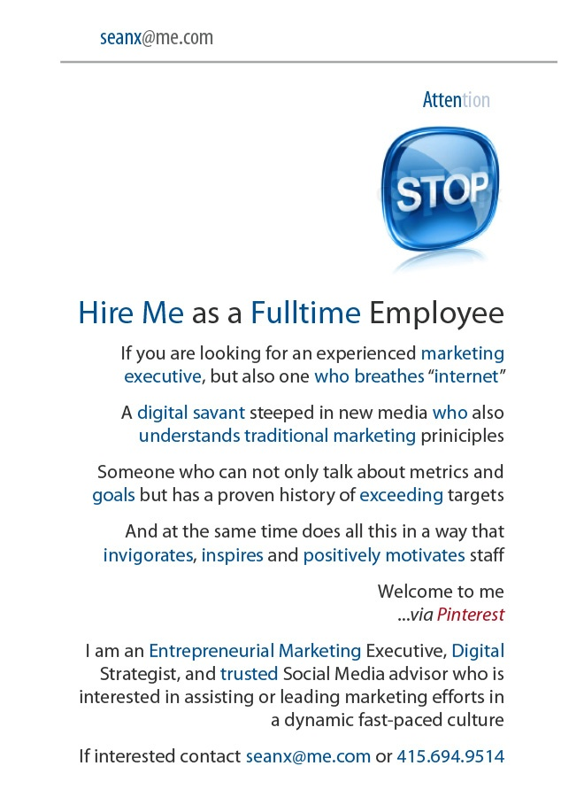 20 best Creative Resumes \ Portfolios images on Pinterest Resume - digital strategist resume
