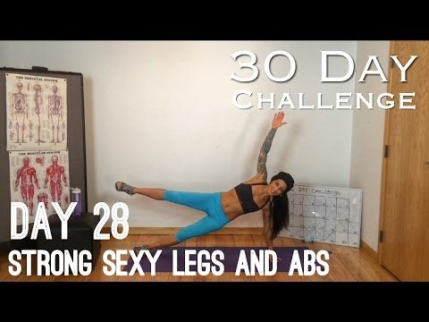 Day 28: Strong Sexy Legs and Abs: Betty Rocker 30 Day Bodyweight Challenge