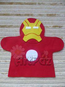 ArtPaz by Tania Paz: Fantoche Super Heróis - Liga da Justiça