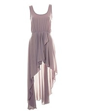 LOVE Rose Asymmetrical Maxi Dress