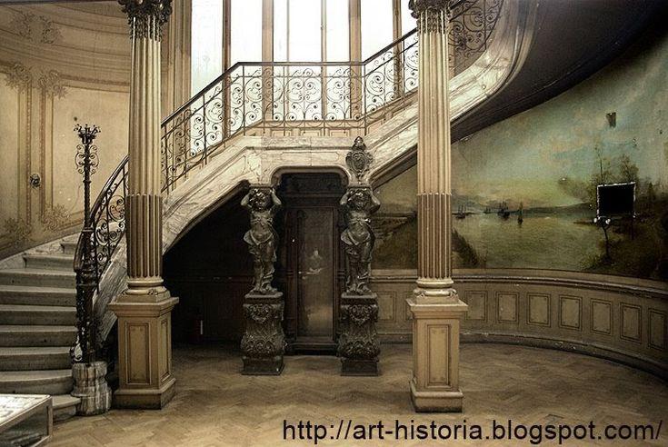 """Institutul de Arheologie """"Vasile Parvan"""" îşi are sediul în cea mai frumoasă casă pe care am vazut-o eu în Bucureşti (Str. Henri Coanda nr. ..."""