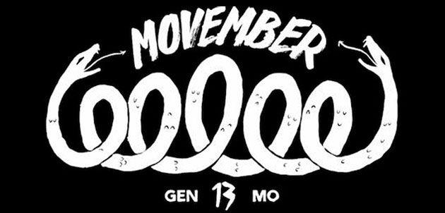 Es el movimiento #MOVEMBER ….