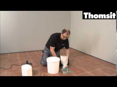 Priming and levelling of old tiles
