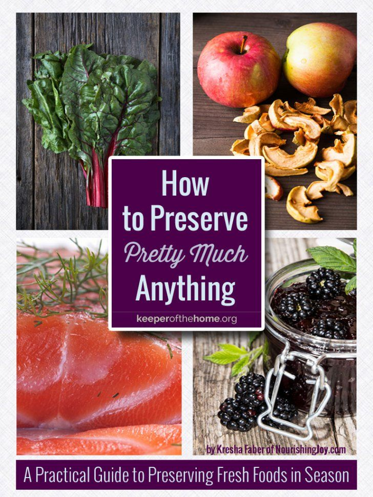 Need to preserve your food? Here are links to 100+ recipes to help get you started (and inspired)!