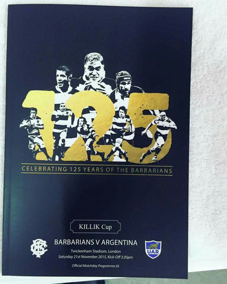 Celebrating 125years Barbarians