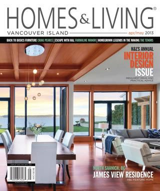 Homes & Living magazine Vancouver Island Apr/May 2013 teaser