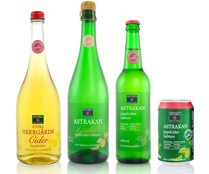 Kiviks Musteri Cider | idegodesign.se
