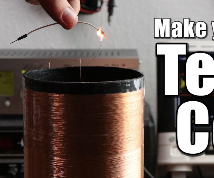 Make Your Own Tesla Coil Tesla Coil