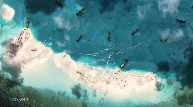 Images show rapid Chinese progress on new South China Sea airstrip | Reuters.com