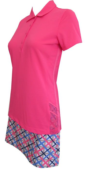 Love Golf Outfits? Here's our  Ice Ice Baby (Pink Puree) EP New York Ladies & Plus Size Golf Outfit! Find plenty of Golf Apparel here at #lorisgolfshoppe