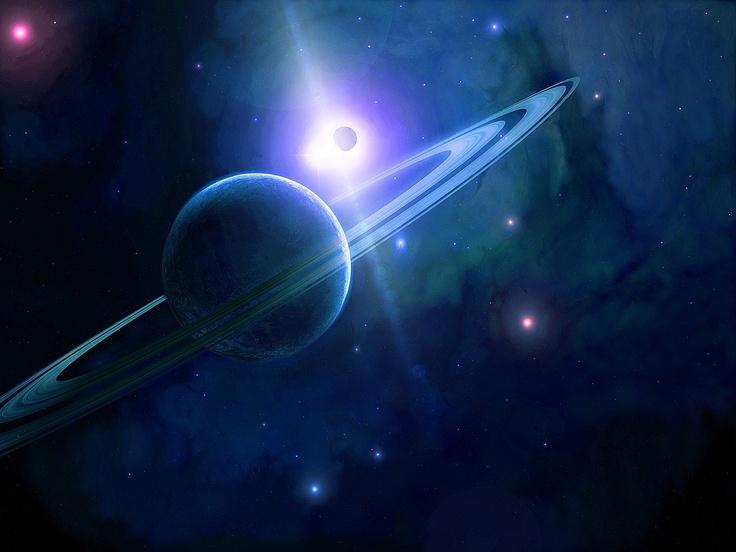 Blue Stars Celestial Dreams Planets Space 212435