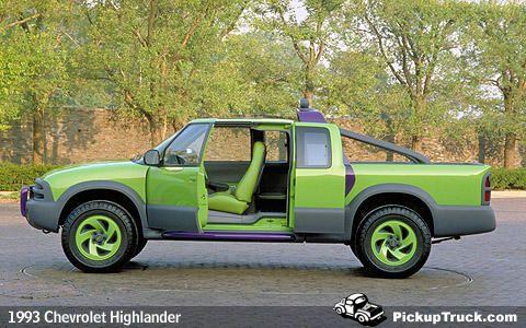 PickupTruck.com - Looking Back: 1993 Chevrolet Highlander Concept