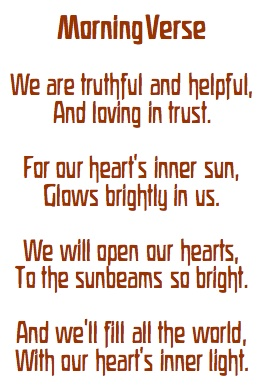 waldorf mama: morning verse...