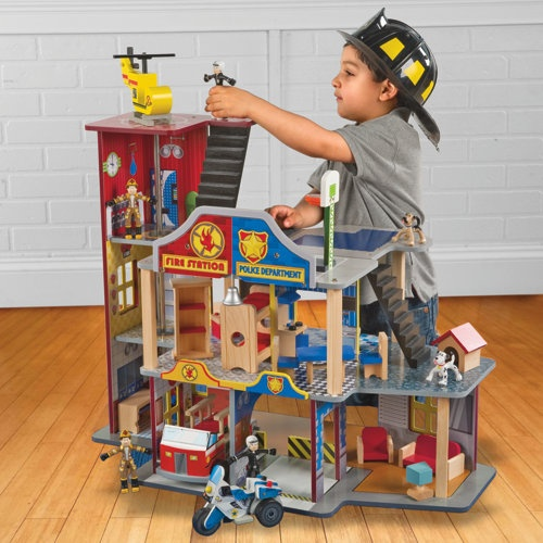 Police Toys For Boys : Best images about fire station dollhouse on pinterest