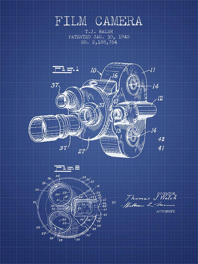 26 best blueprints images on pinterest engine motor engine and clock film camera patent from 1940 blueprint print by aged pixel all prints are professionally printed packaged and shipped within 3 4 business days malvernweather Image collections