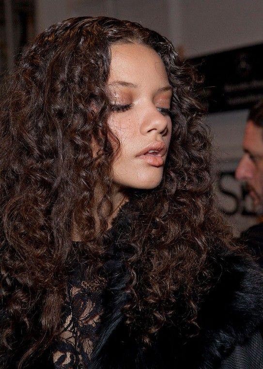 hairstylesweekly.com Marina Nery Long Curly Hairstyle wld need to be good when i ware it naturally curly which is very similar to this.