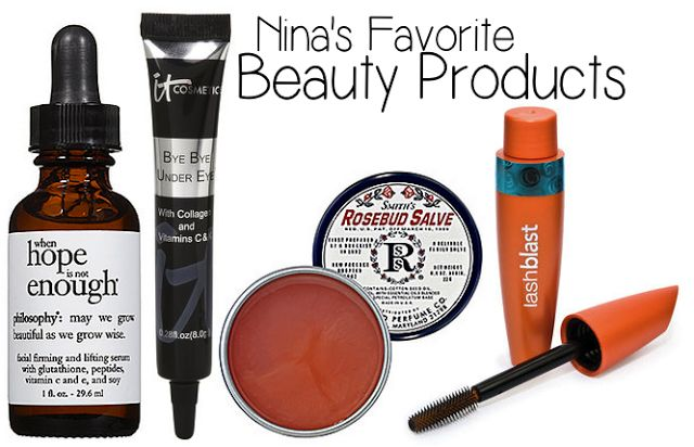 nina dobrev, nina dobrev favorite beauty, nina dobrev makeup products