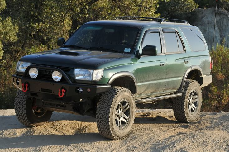 Front bumper. I like the bar on top that changes things up a bit and protects the lights.