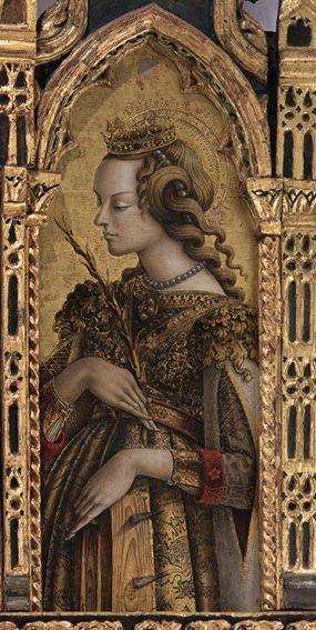 Carlo Crivelli: Santa Cecilia