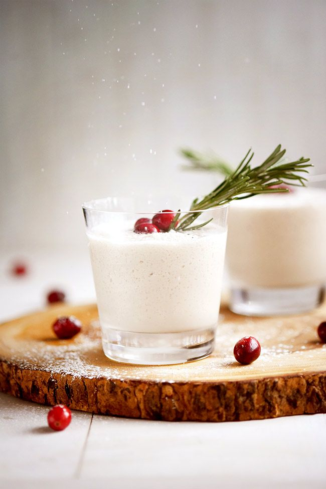 White Christmas Cocktail in 2018 Mighty Mrs Recipes Pinterest