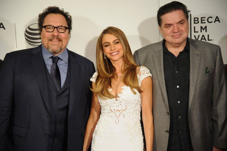 Pin for Later: See All the Stars at the Tribeca Film Festival  Jon Favreau, Sofia Vergara, and Oliver Platt attended their Chef premiere.