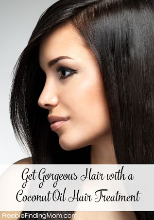 Get gorgeous hair with a coconut oil hair treatment. Find out how easy it is!