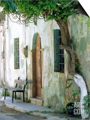 Vessa, Chios Isl, Greece