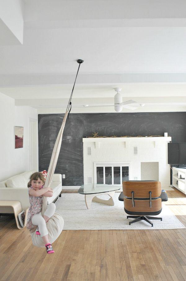 The 25 best indoor swing ideas on pinterest bedroom for Swing for kids room