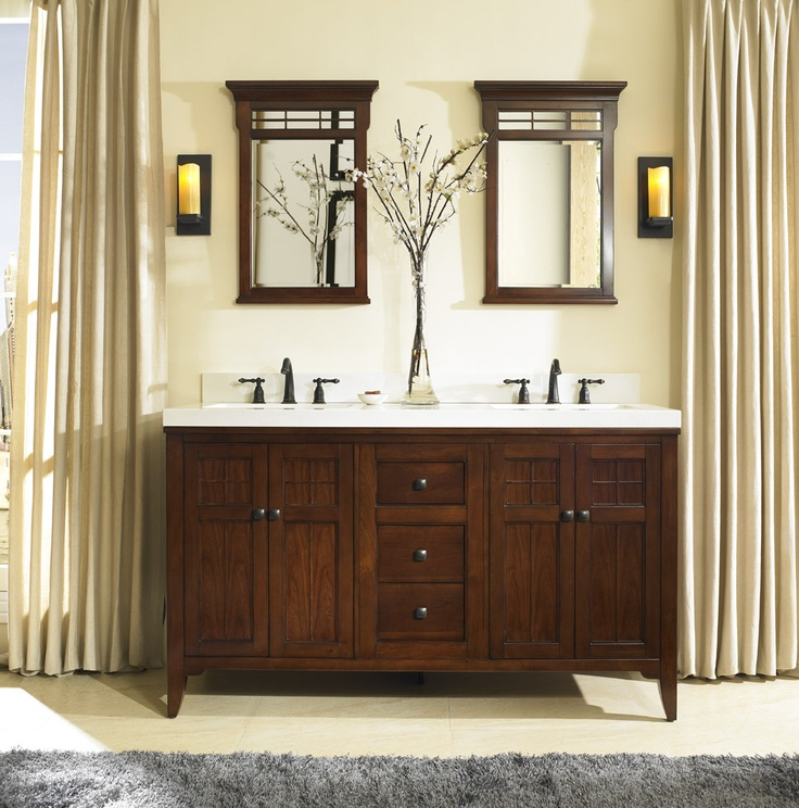 1000 images about bathroom inspiration fairmont on pinterest wall mount rustic chic and Fairmont designs bathroom vanity cottage