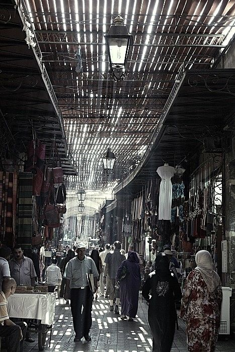 Marrakech Medina - travel tips on our blog!