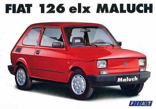 Fiat 126 elx Maluch Poland 1996