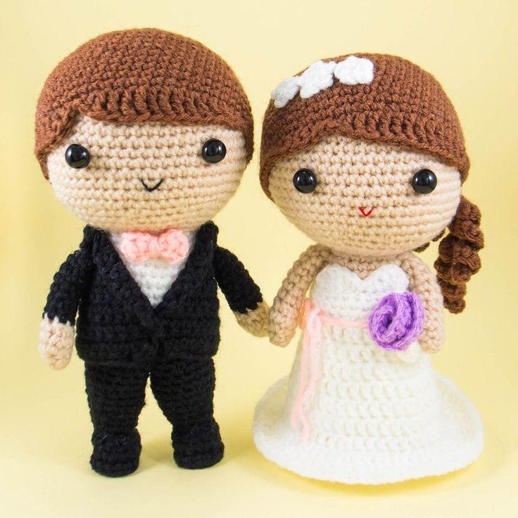 Crochet Pattern Amigurumi Cat : 25+ Best Ideas about Crochet Wedding Gifts on Pinterest ...