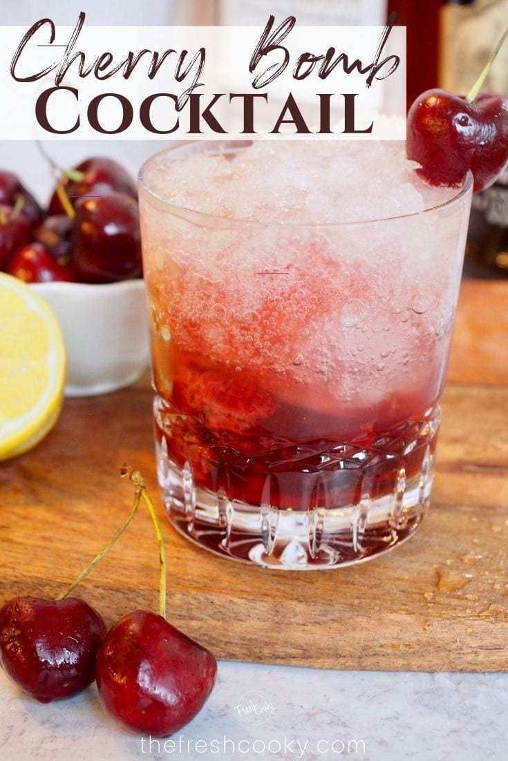 Pin By Rei Elisaie On Alcoholic Drinks In 2020 Delicious Cocktails Fresh Cherries Alcohol Drink Recipes