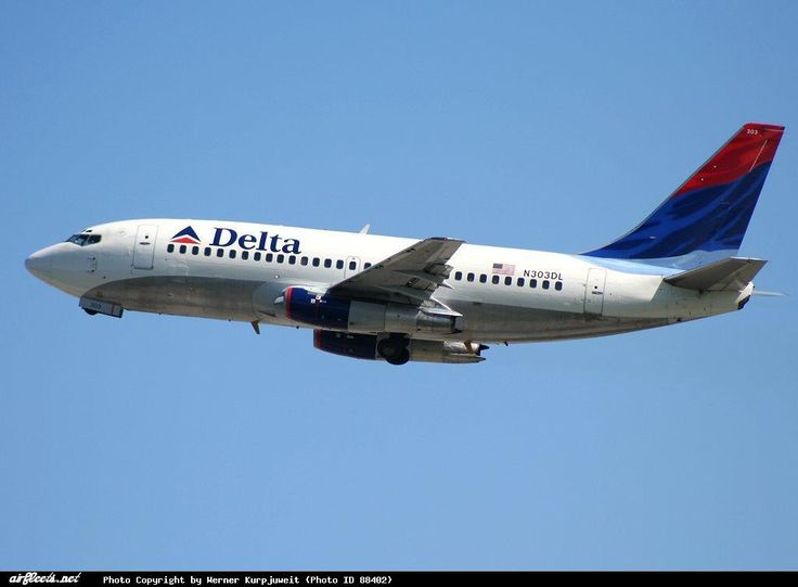 Delta Airlines - 737-200