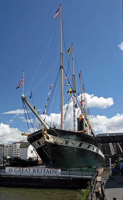 The SS Great Britain, Great Western Dockyard, Bristol, England