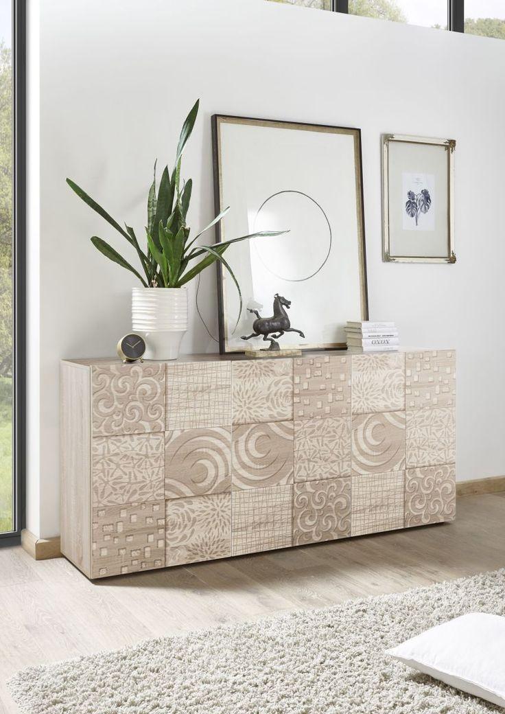 Sideboard Eiche Sonoma Mit Siebdruck Classico Z Miro Holz Modern Jetzt  Bestellen Unter: Https