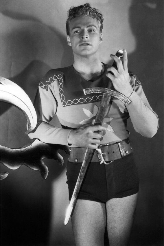 Buster Crabbe rare PHOTO Physique beefcake Gay interest BUY 2 GET 1 FREE