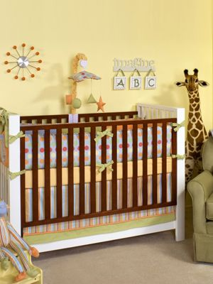 When the time comes, my nursery will most definitely haves giant giraffe like this. That way Aunt Kathy can watch over my baby as she sleeps.