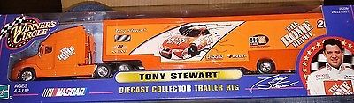 Tony Stewart Winner's Circle Diecast Collector Trailer Rig Nascar Toys & Hobbies:Diecast & Toy Vehicles:Other Vehicles:Contemporary Manufacture www.internetauctionservicesllc.com $15.99