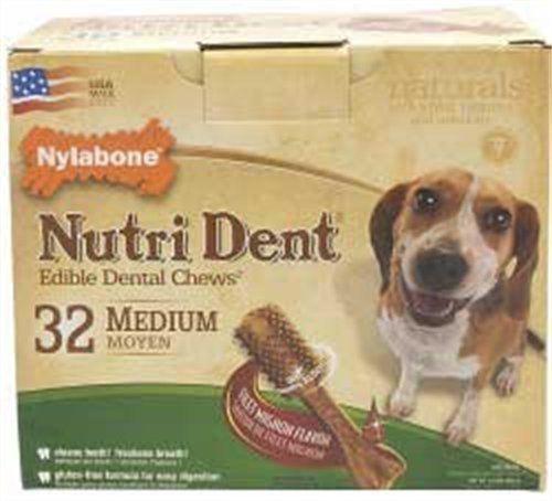 Nylabone Nutri Dent Filet Mignon, 32-Count Pantry Pack - http://www.thepuppy.org/nylabone-nutri-dent-filet-mignon-32-count-pantry-pack/