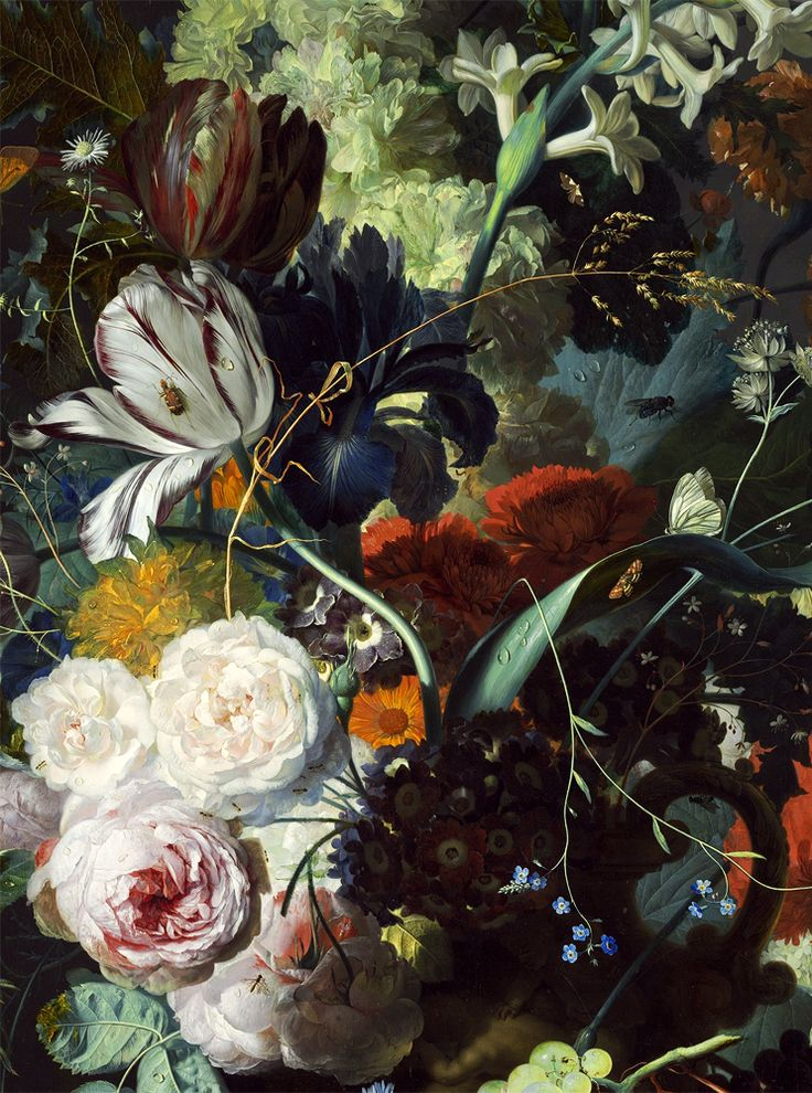 Jan Van Huysum Still Life With Flowers And Fruit 1715 Thou Art Pinterest Vans And Flowers