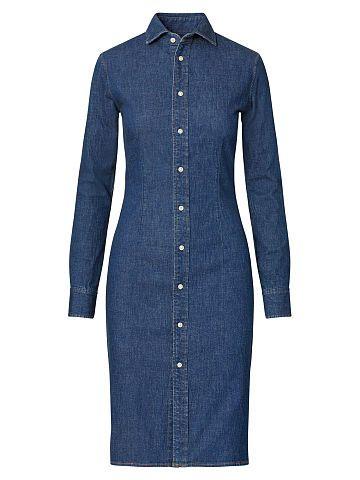 Polo Ralph Lauren Stretch Denim Shirtdress - Polo Ralph Lauren Shop All - Ralph Lauren UK
