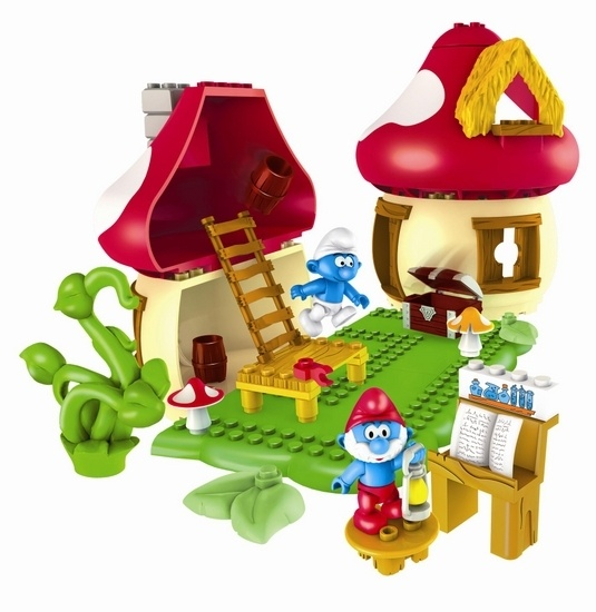 Megabloks Huis van Grote Smurf
