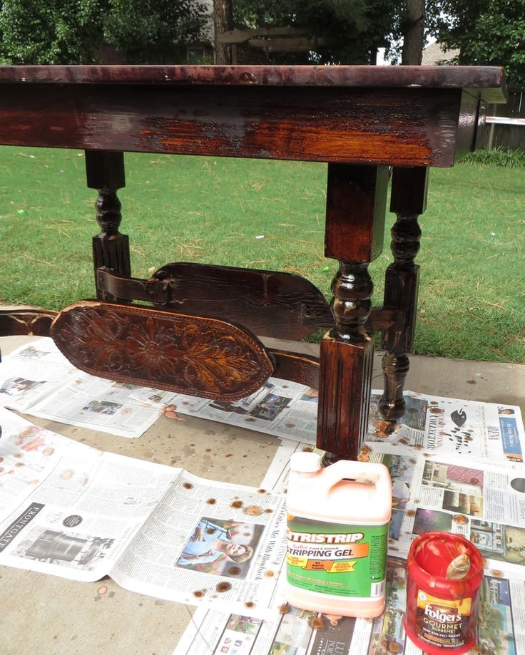 Furniture Refinishing Tutorial. 26 best wood stripping  painting  distressing tutorials images on